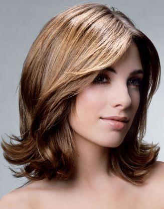 Прически на каждый день для волос средней длины