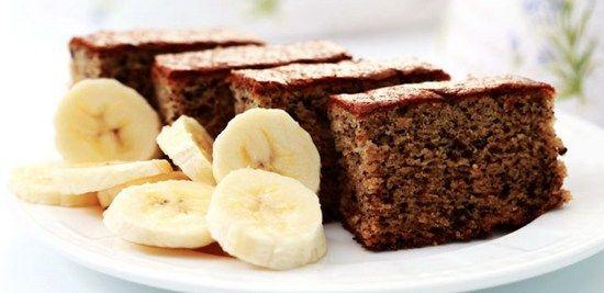 Простой пирог с бананом: рецепты приготовления в духовке и мультиварке с фото