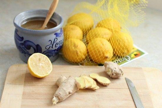 Лимонно-имбирная смесь