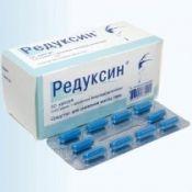 Редуксин: инструкция, противопоказания, описание, применение препарата