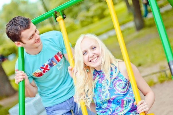 Счастливая пара - Анна и Александр
