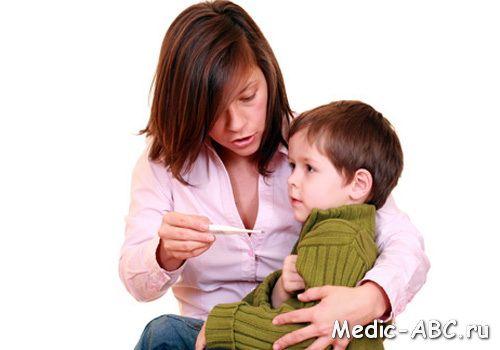 Симптомы гриппа у грудного ребенка