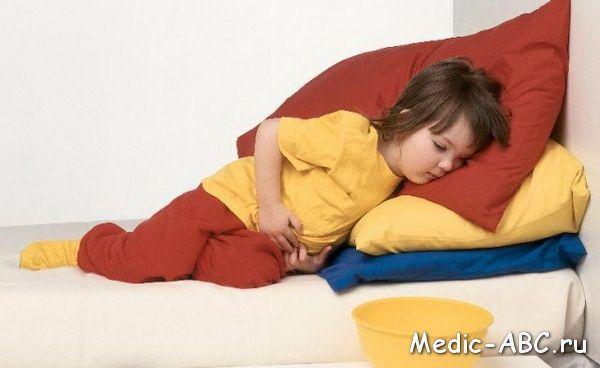 Симптомы отравления у детей