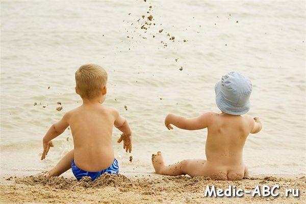 Симптомы солнечного удара у детей