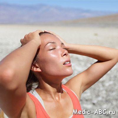 Симптомы теплового удара у ребенка