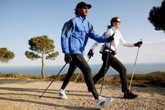 Скандинавская ходьба: правила. Техника скандинавской ходьбы