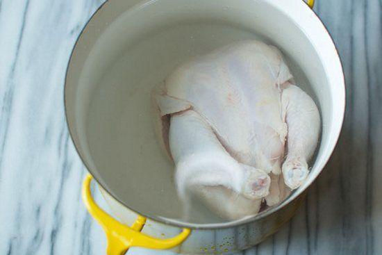 ушку цыпленка и залить 3 л холодной воды