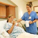 Сохранение беременности женщины в стационаре