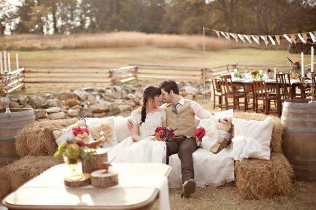 Свадьба в стиле рустик. Основные моменты, особенности оформления и выбора нарядов