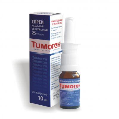 Тимоген спрей инструкция по применению