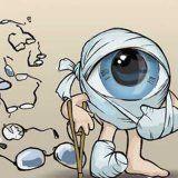 Виды и причины травмирования глаз