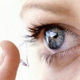 Виды отложений на контактных линзах