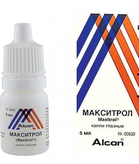 Все про глазные капли Макситрол: инструкция по применению