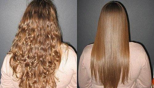 Кератинът изправяне на коса: мнения