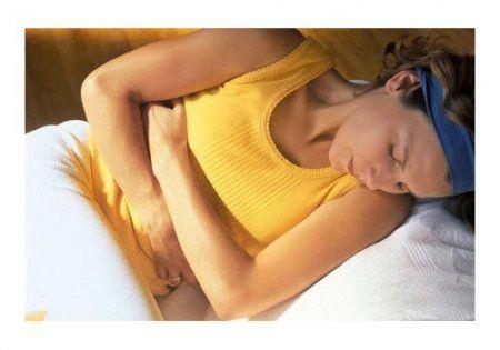 Вздутие живота у женщин, причины и симптомы