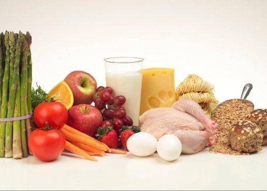 Здоровое сбалансированное питание продукты полезные и вредные