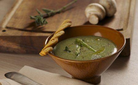 Жиросжигающий суп из шпината